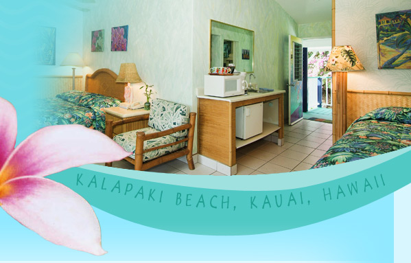 Hotel rooms at the Garden Island Inn, Lihue, Kauai, Hawaii image