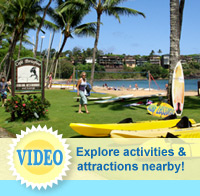 Video of nearby activities and attractions at The Garden Island Inn