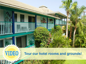 View video of Garden Island Inn rooms and grounds image